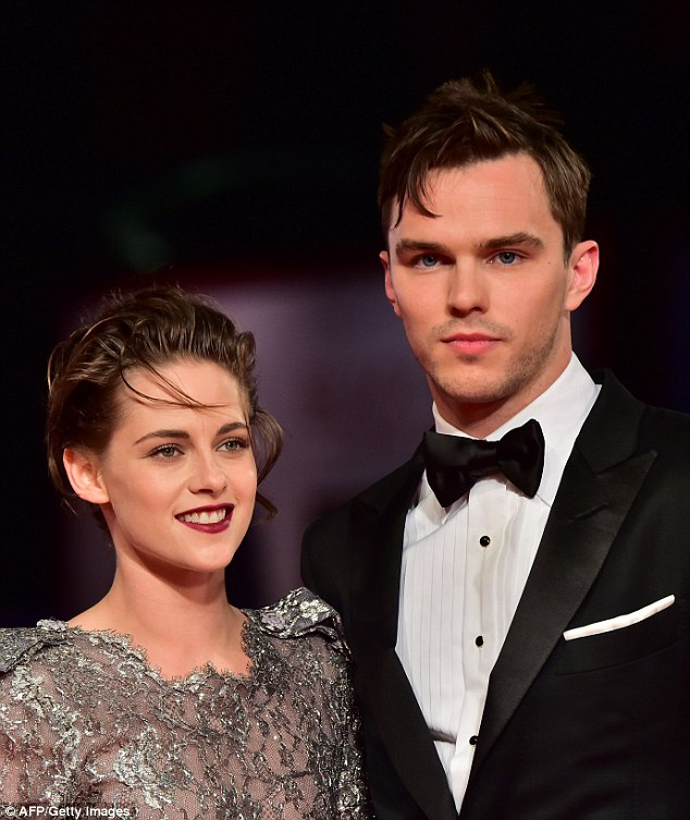 Kristen Stewart and Nicholas Hoult at the 'Equals' premiere