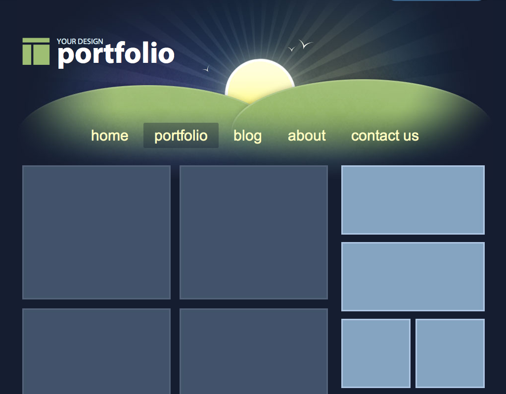 Web Page Layout Templates. 36 high quality templates tutorials to ...