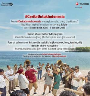 Tulis Kisah Inspiratifmu di Event #CeritaUntukIndinesia Berhadiah Samsung Galaxy J5