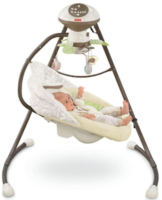 Fisher-Price Baby Cradle 'N Swing