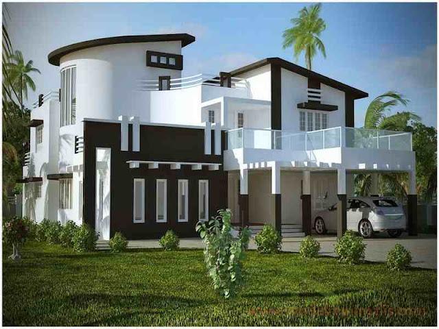 Desain Dengan Paduan Warna Rumah yang Indah