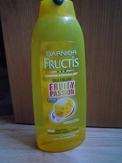 Garnier Fructis, Fruity Passion, Szampon wzmacniający do włosów suchych i normalnych RECENZJA