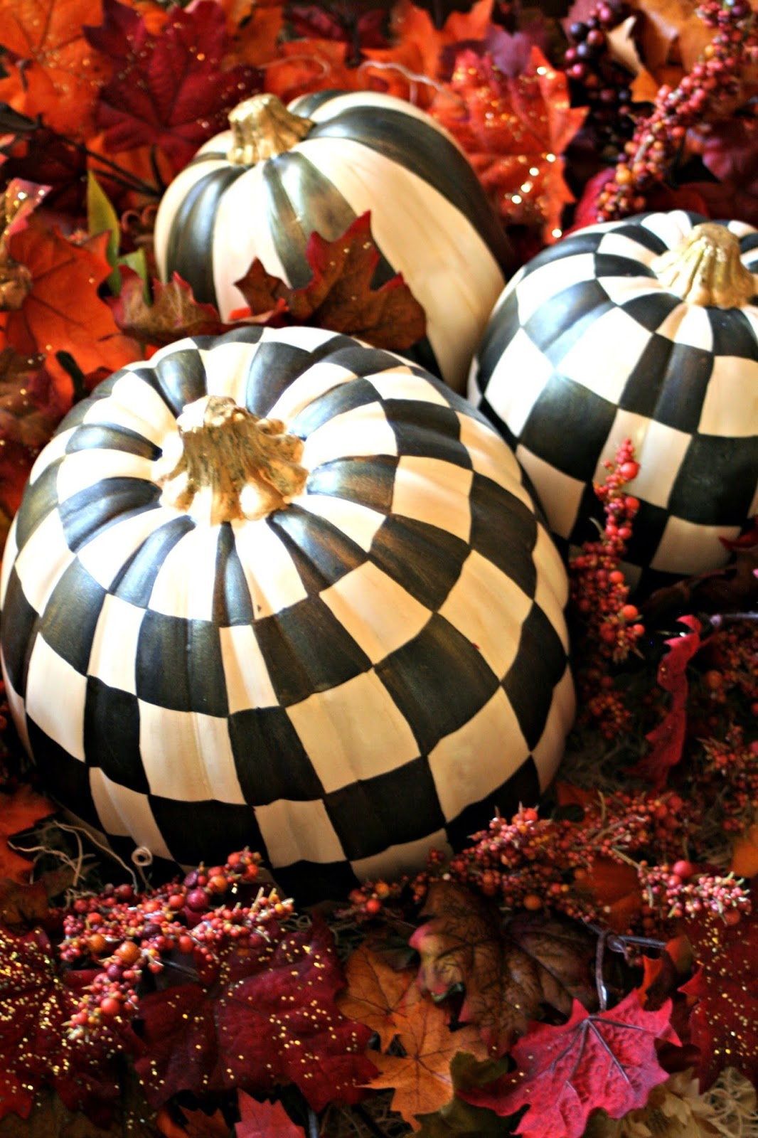 Inspired by Mackenzie - Childs Pumpkins