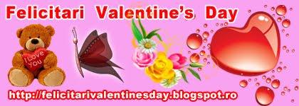 Felicitari  Valentine's Day
