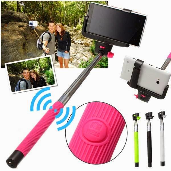 Bluetooth Shutter Handheld Selfie Stick