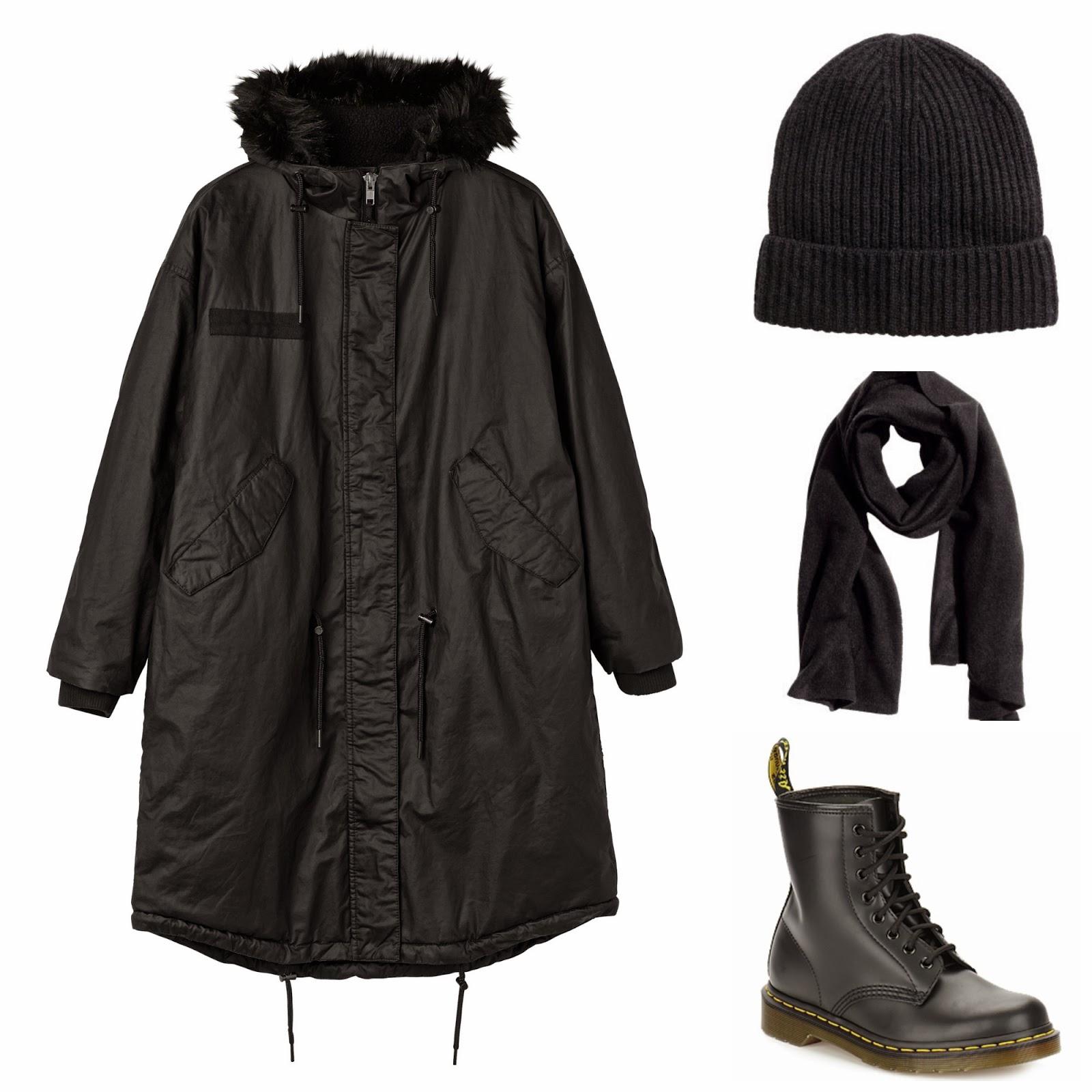 Mollie jacket, Monki jacket, monkistyle, monki coat, monki jacka, kashmir mössa, kashmir duk, monki parka, monki vinterjacka, HM premium quality collection