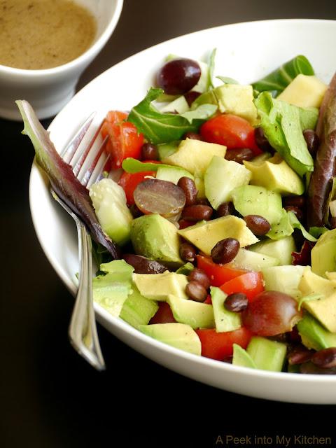 Avocado – Fruit Salad with Citrus Dressing ~ Day 7