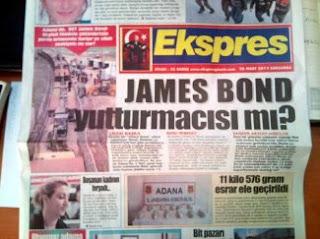 James Bond yutturmacası ile silah sevkiyatı