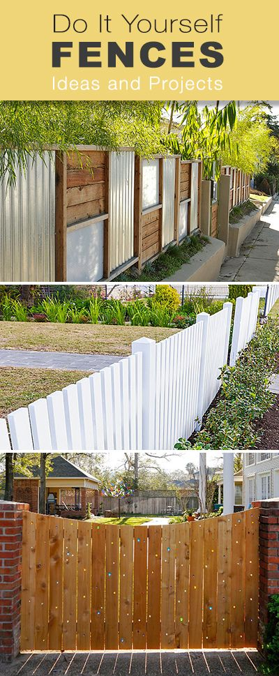 flowers gardens diy fences. Black Bedroom Furniture Sets. Home Design Ideas