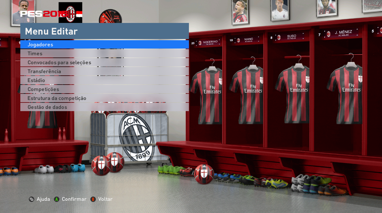PES 2016 Locker Rooms by MES Modder PREVIEW