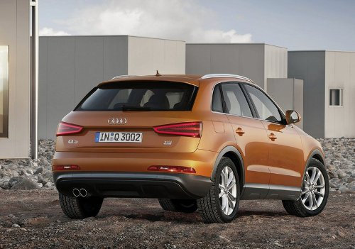 2 of 5 - 2012 Audi Q3 Rear Pictures