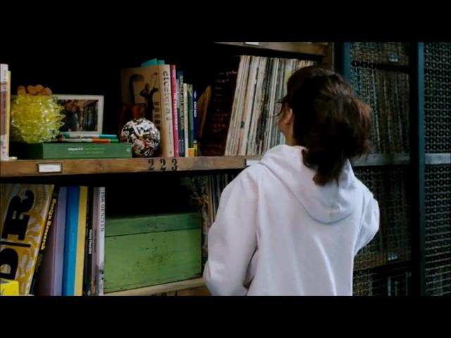 prateleiras - casa de Paige e Leo - filme Para Sempre 2012