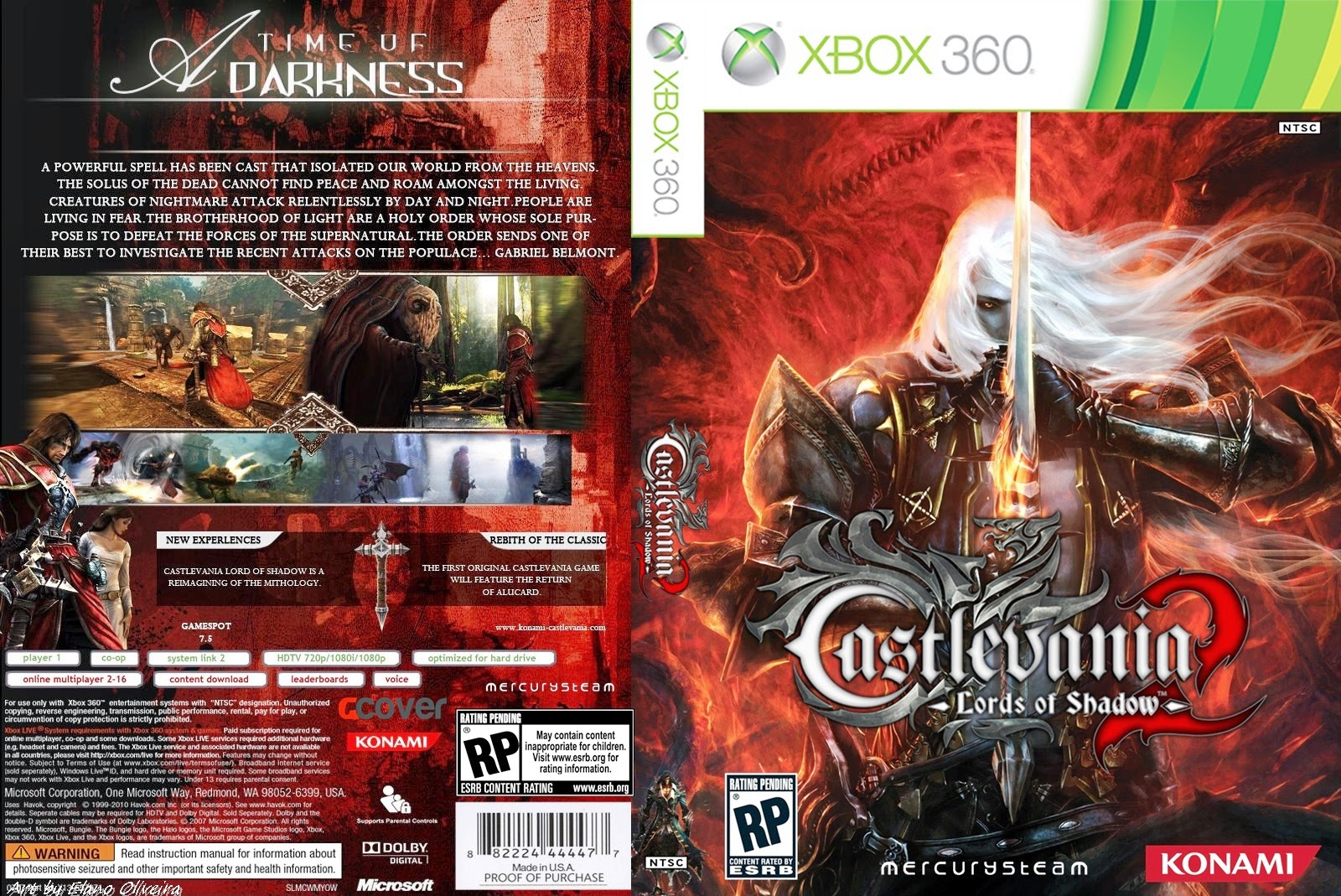 Castlevania Lords Of Shadow 2 Cover Ps3 9779776 Som300 Info