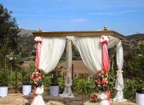 Wedding alter Southern California