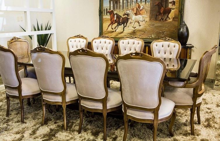 Conjunto De Sala De Jantar Luis Xv ~  Decoração de Interiores Moveis Sofisticados para Sala de Jantar