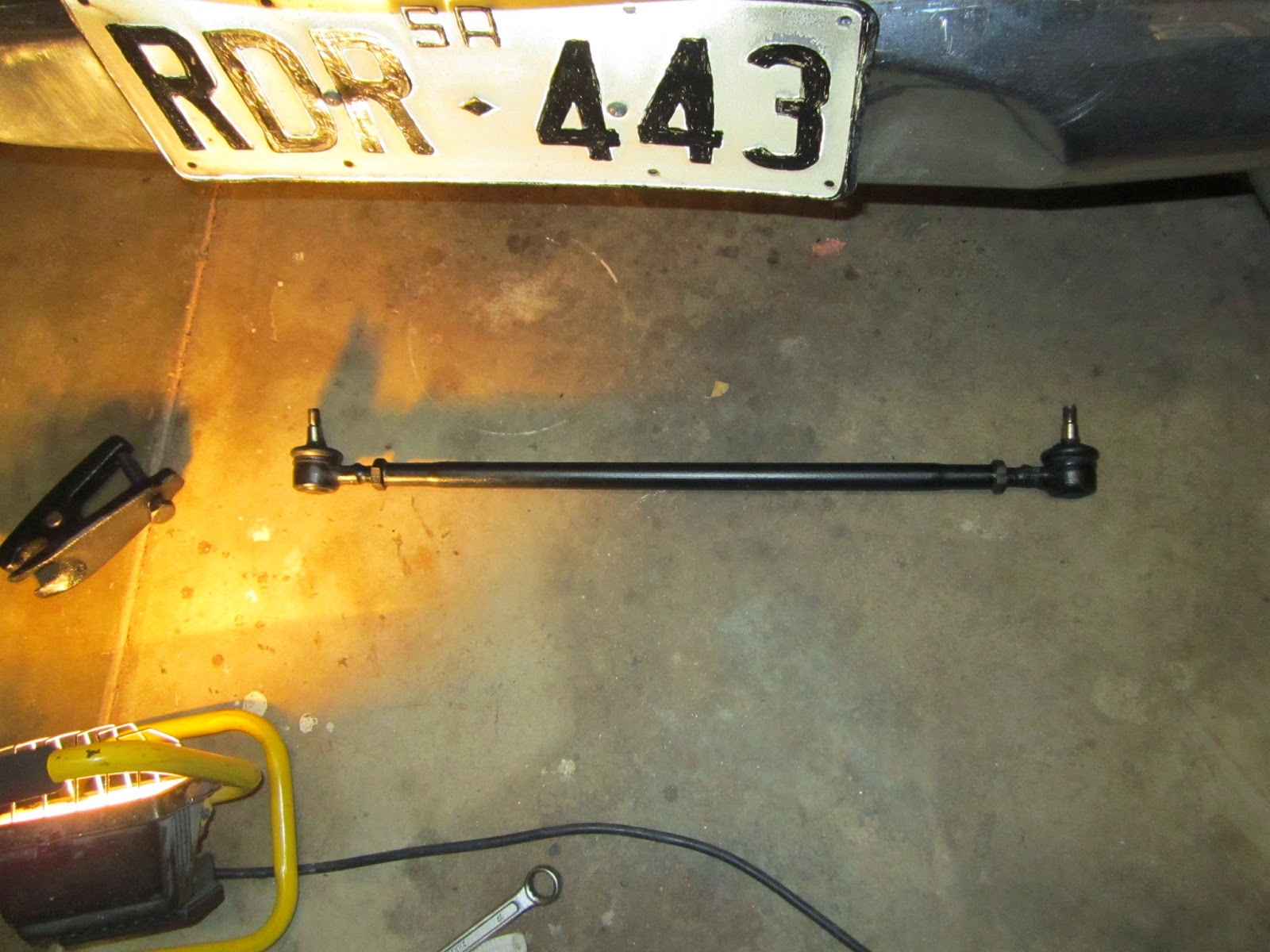 Steering rod Volvo 122S