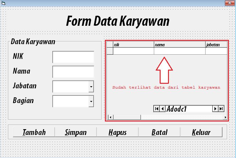 adodc datagrid