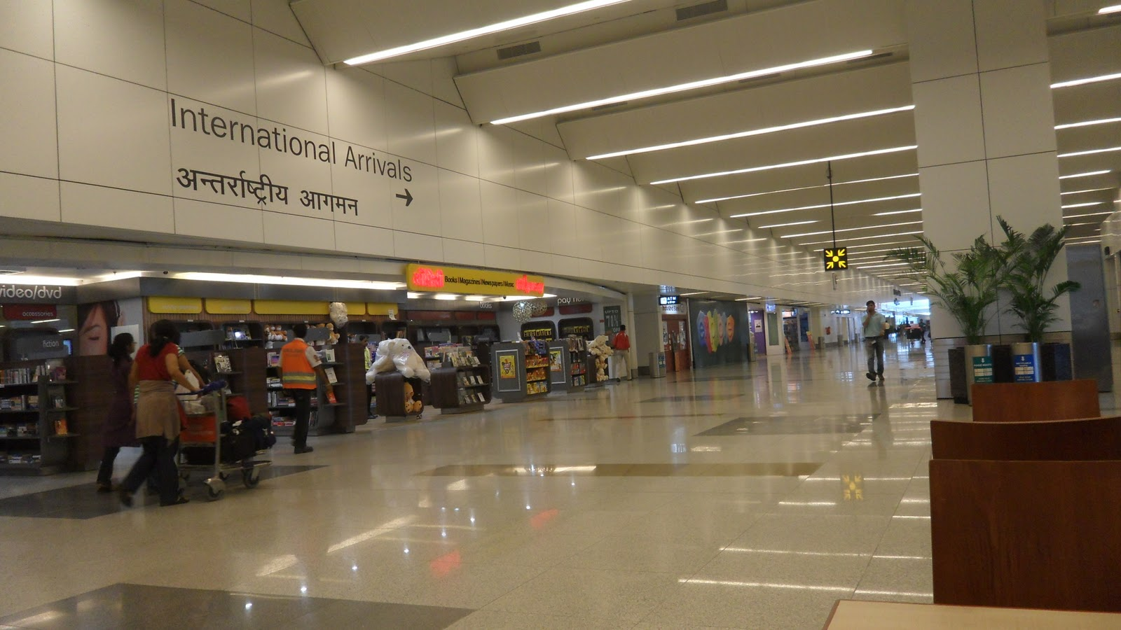delhi airport report India delhi duty free has opened its first outlets selling consumer electronics in arrivals at delhi indira gandhi international airport terminal 3.