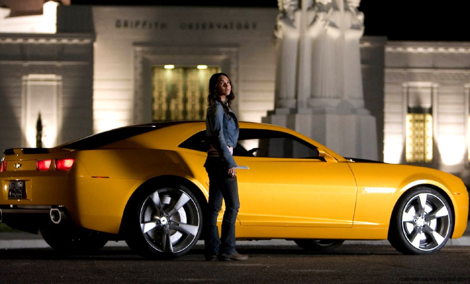 Megan Fox Transformers Car