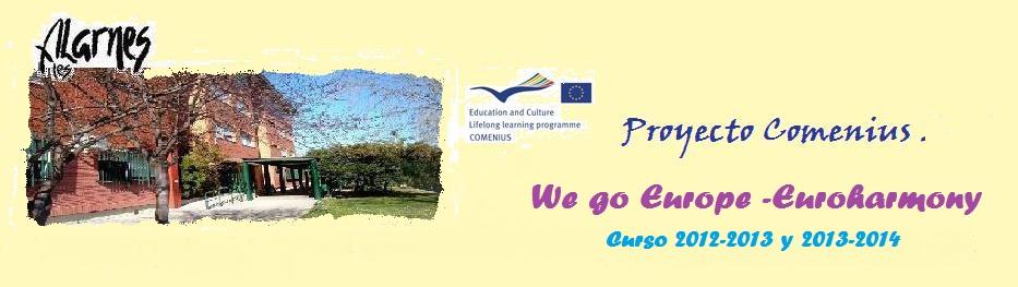 Proyecto Comenius del IES Alarnes