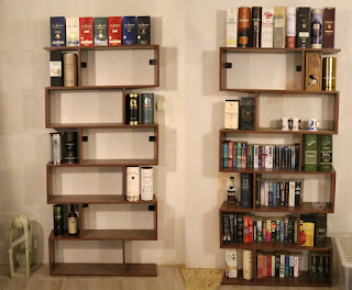 Whisky on the shelves