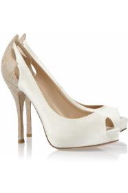 احذية رومانسية للعروس 2013 احذية