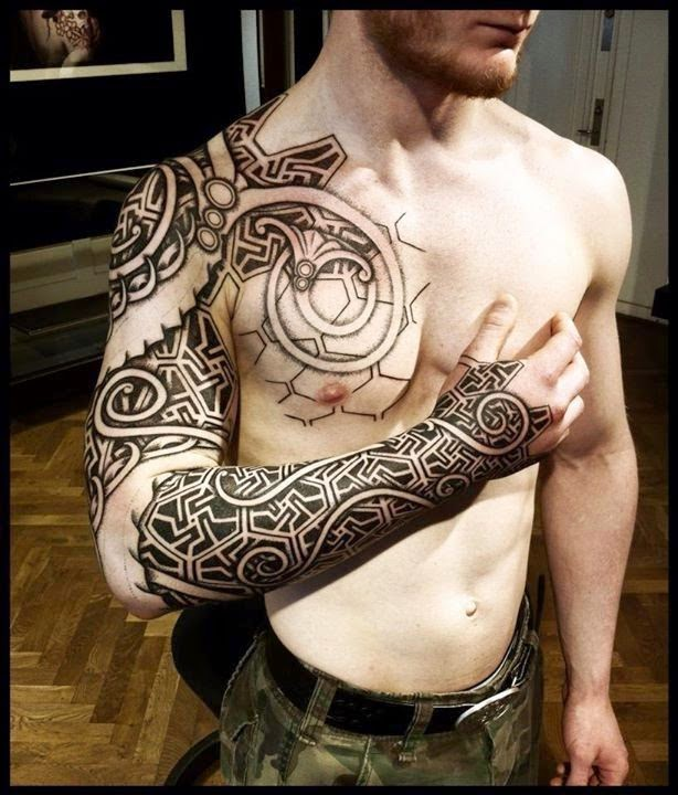 Amazing 3D Tattoos on Arms