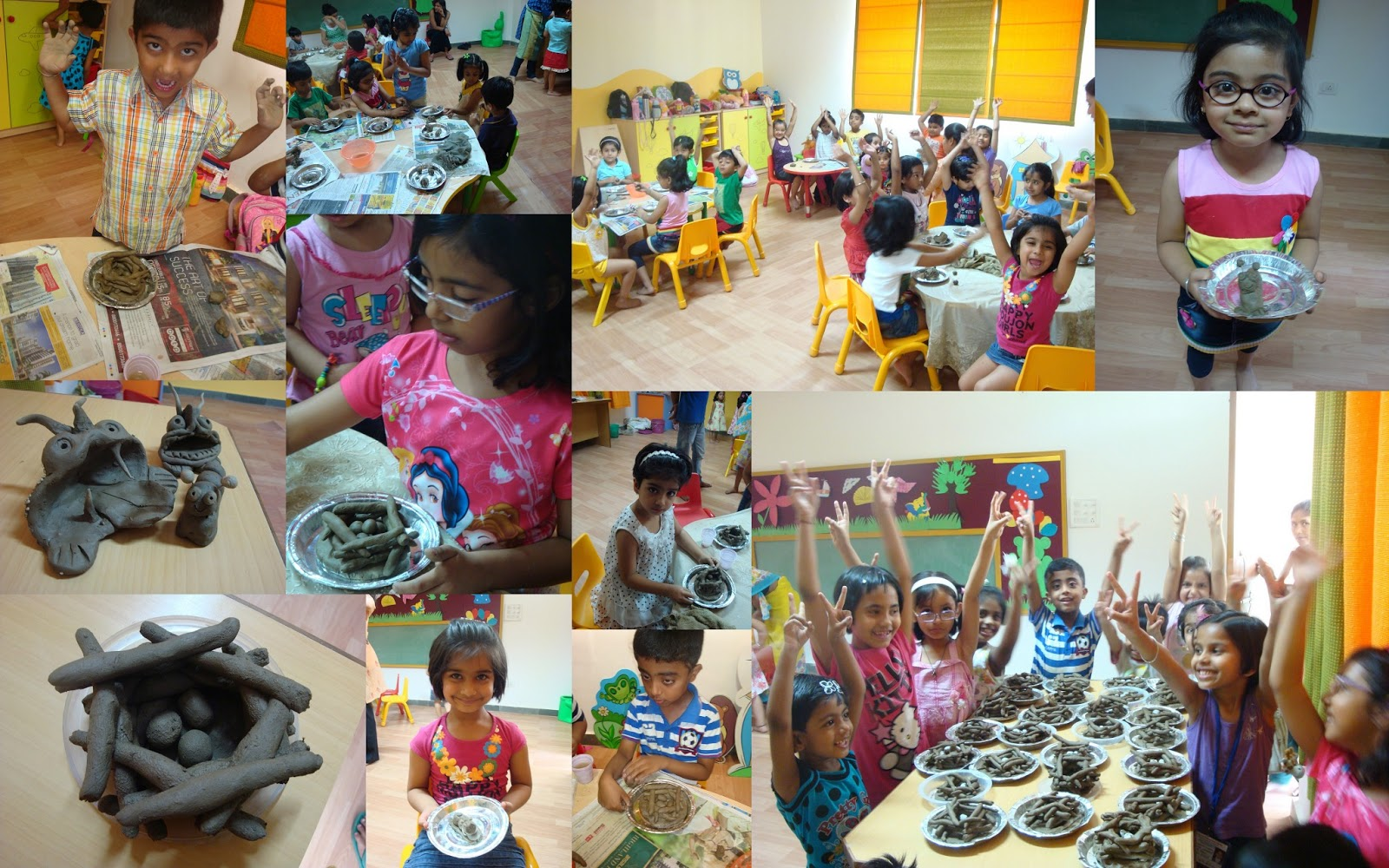 Clay Modelling workshop for kids