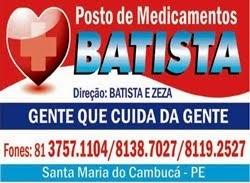 BATISTA ESSE VOCÊ CONFIA!