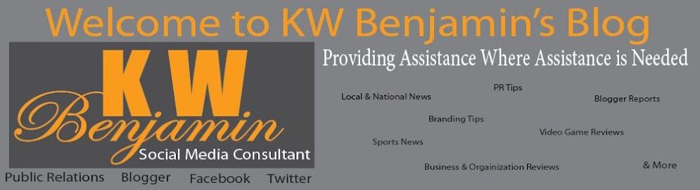 KW Benjamin's Blog