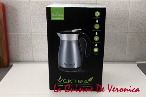 Vektra Thermal Insulated Electric Kettle