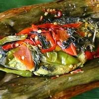 resep masakan pepes ikan mas bumbu iris
