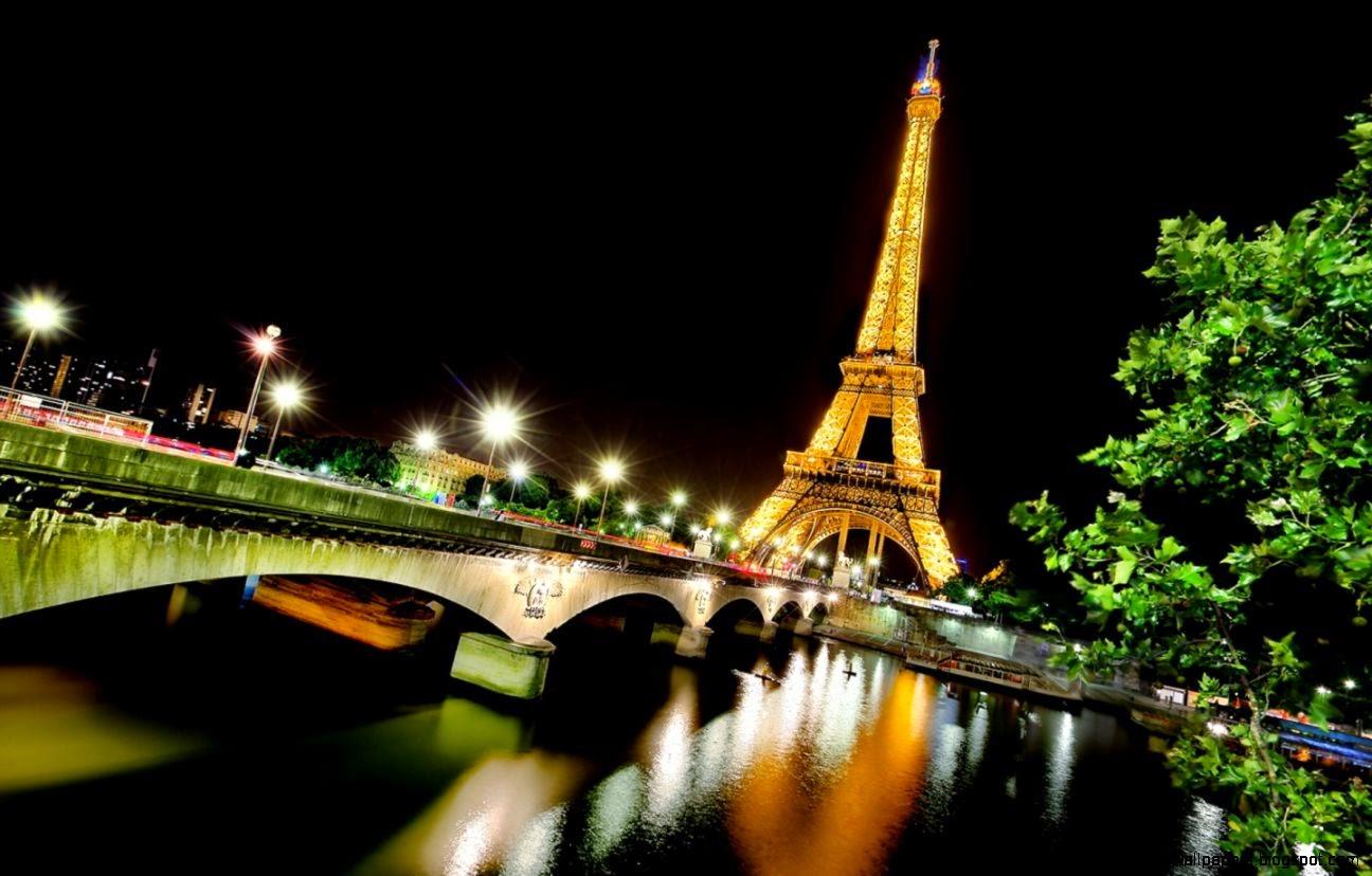 Night Paris Wallpaper Wide | All HD Wallpapers