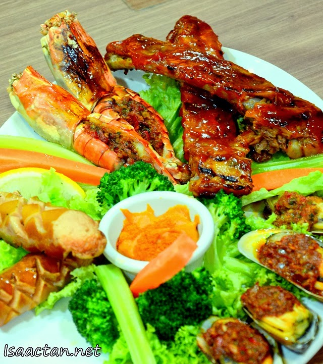 Chicago Rib House Chinese New Year Porkalicious Joy Luck Set - Signature Platter