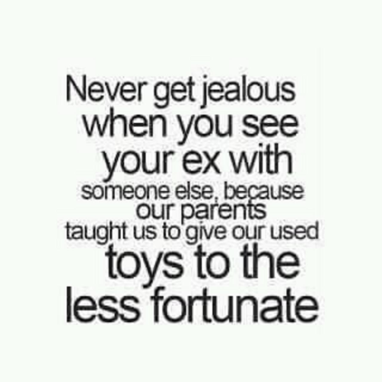 What to do if you are jealous