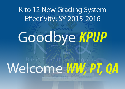 new Grading System k to 12 2015