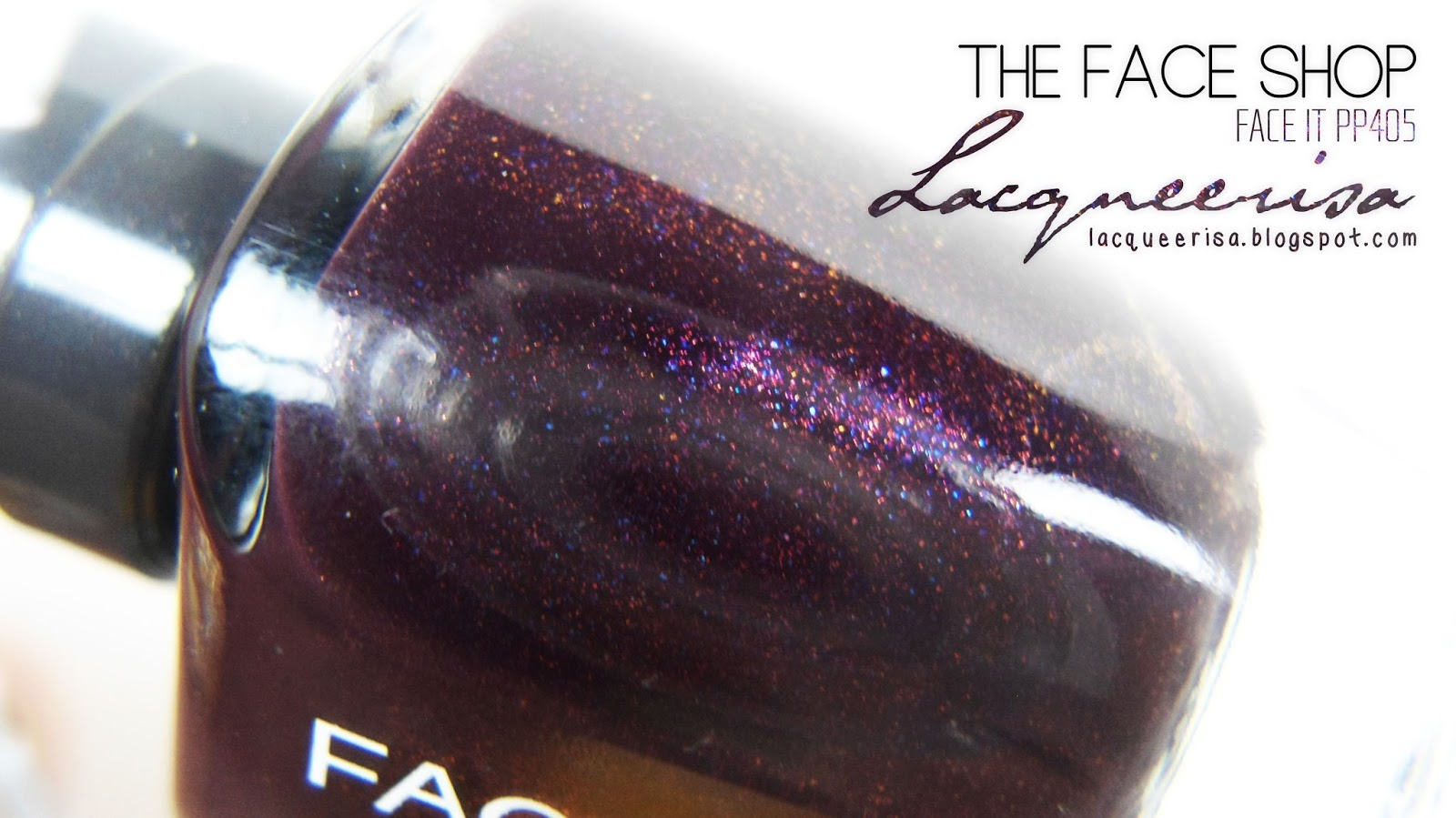 Lacqueerisa: The Face Shop PP405