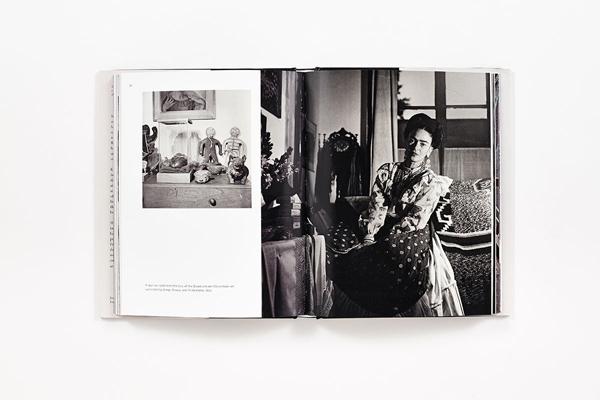 livre sur Frida Kahlo : photographies de Gisèle Freund