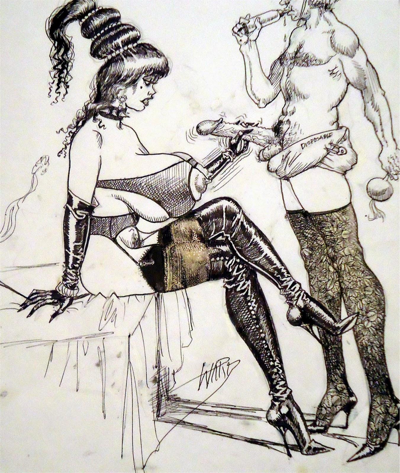 bill-ward-bdsm-drawings