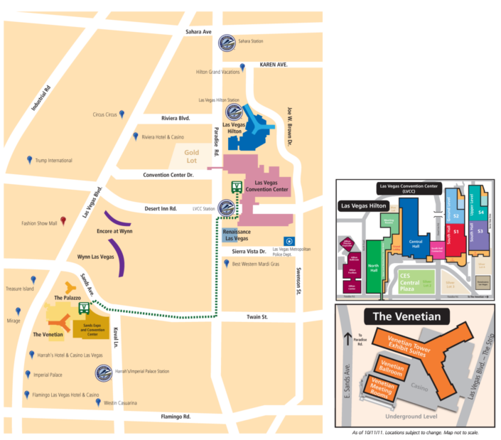 CityView - CES 2012 revealed: Maps! Conference Brochure! PMA@CES TechZone!