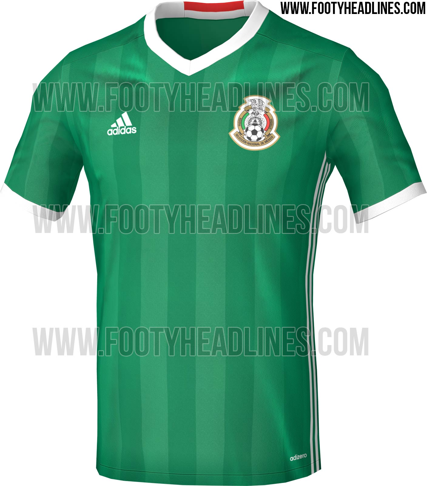 Mexico 2016 Copa America Home Kit Leaked Footy Headlines