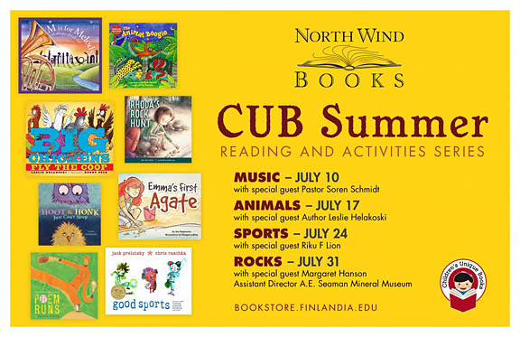 North Wind Books to hold children's reading series
