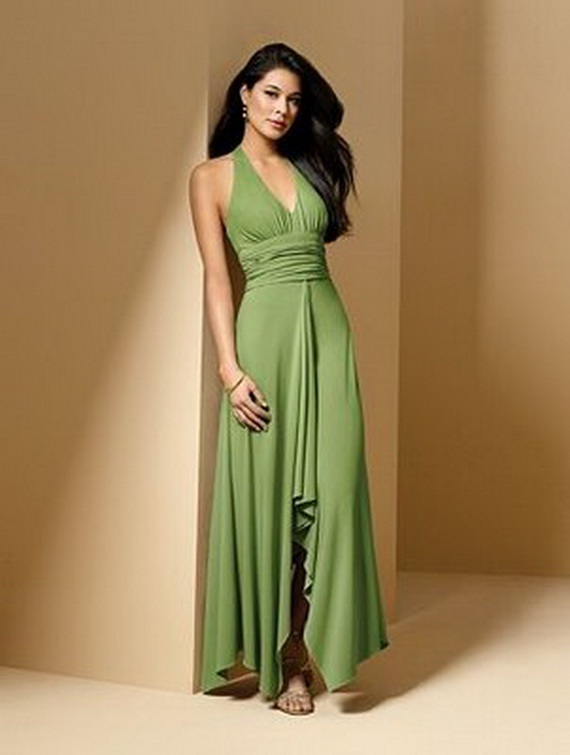 Bridesmaid dresses 2012 beach bridesmaid dresses for Green beach wedding dresses