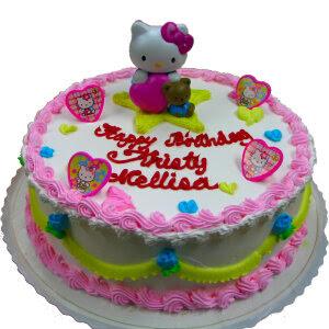 Hello Kitty Birthday Cake Designs