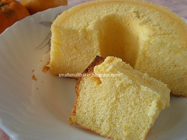 Can You Ice An Orange Chiffon Cake