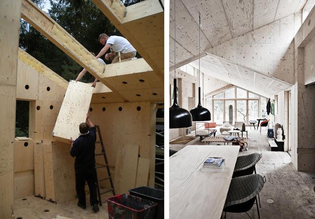 Do it yourself imprime y construye tu casa de madera - Como se construye una casa de madera ...