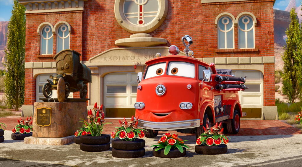 pixar corner three mini cars shorts to premiere tonight on disney