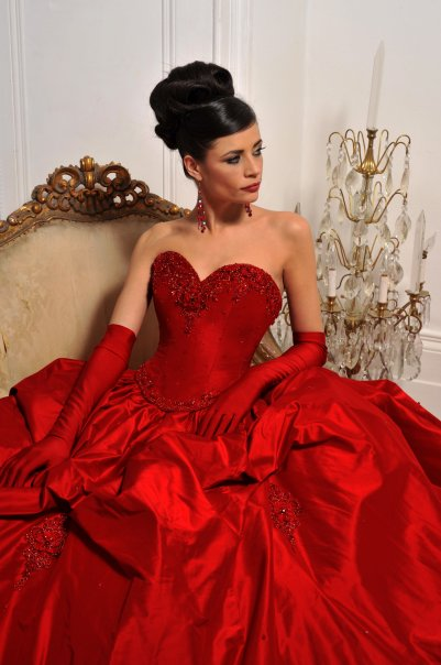 Red wedding dress in dream : Fresh by wedding dresses in colour