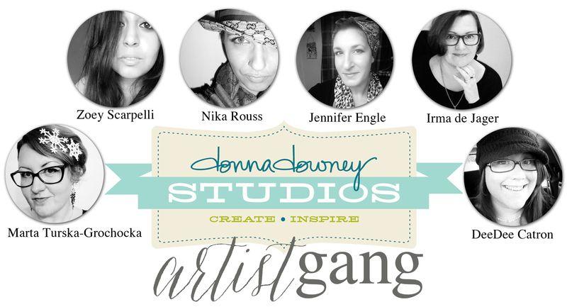 Donna Downey's Artist Gang Member