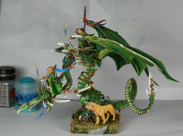 What's On Your Table: Forest Dragon and Friends